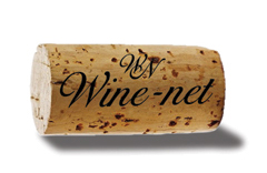 Wine-net cork